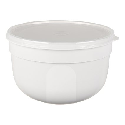 emsa Frischhaltedose SUPERLINE Colour, 0,6 Liter, rund, weiß