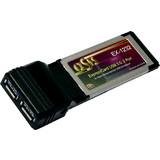 EXSYS usb 3.0 expresscard Adapter, 2 Port, 5 GBit/Sek.