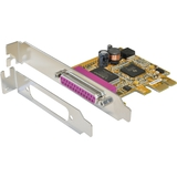 EXSYS parallel SPP / epp / ecp PCI-Express Karte, 1 Port