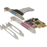 EXSYS parallel SPP / epp / ecp PCI-Express Karte, 2 Port