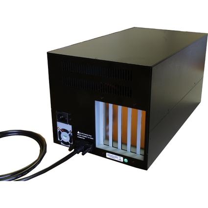 EXSYS 4 x PCI Slot Expansions Box mit 220 Watt Netzteil