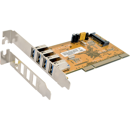 EXSYS USB 3.0 PCI-Karte, 4 Port