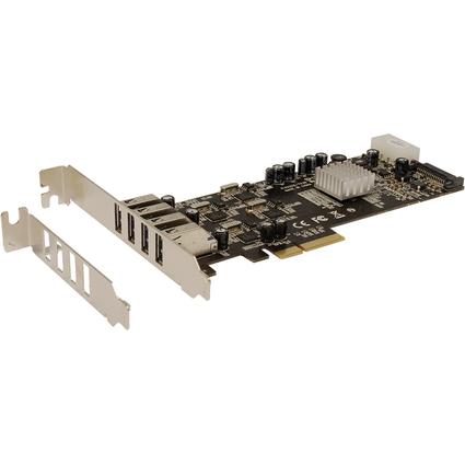 EXSYS USB 3.0 PCI-Express Karte, 4 Ports