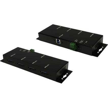 EXSYS USB 3.0 Metall HUB, 1.500 mA auf allen 4 Ports
