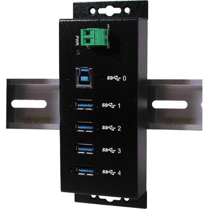 EXSYS USB 3.0 HUB, 4 Ports, Metallgehäuse