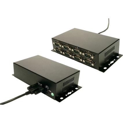 EXSYS USB 2.0 Konverter - 8 x serielle RS232 Schnittstelle