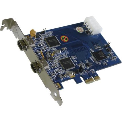 EXSYS Dual FireWire 1394a PCI-Express Karte, 2 Port