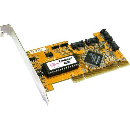 EXSYS Serial ATA PCI RAID Controller, 4 Port