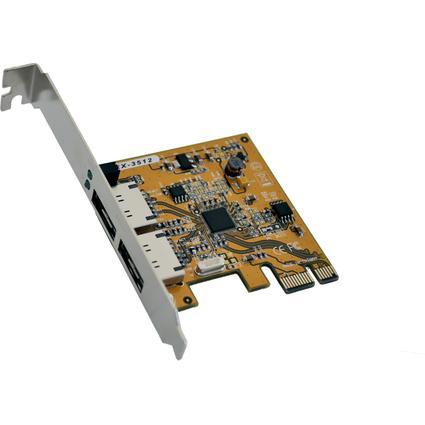 EXSYS eSATA III PCI RAID Controller, 2 Port