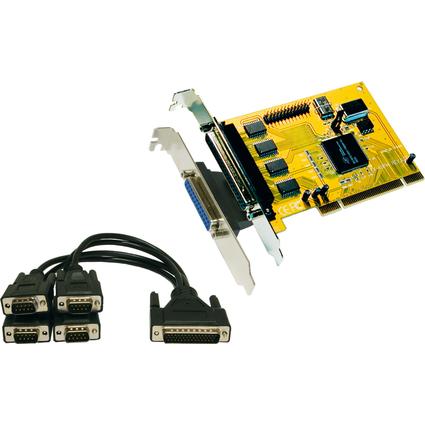 EXSYS Seriell / Parallel 16C950 SPP / BPP PCI Karte