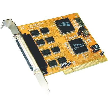 EXSYS Serielle 16C950 RS-232 PCI Karte, 8 Port, 32/64 Bit