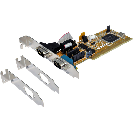 EXSYS Serielle 16C950 RS-232 PCI Karte, 2 Port
