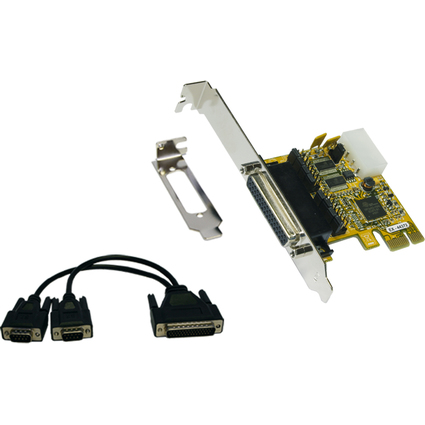 EXSYS Serielle 16C950 RS-232 PCI-Express Karte (Oxford)