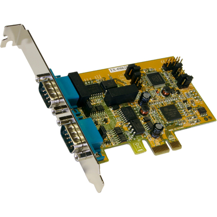 EXSYS Serielle 16C950 RS-422/485 PCI-Express Karte, 2 Port
