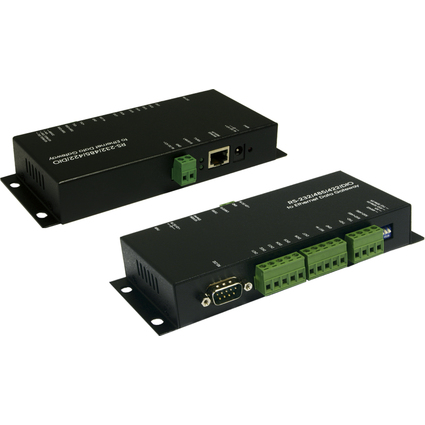 EXSYS RS-232/422/485/DIO zu Ethernet Data Gateway
