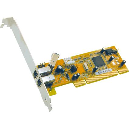 EXSYS FireWire 1394a PCI Karte, 2 + 1 Port