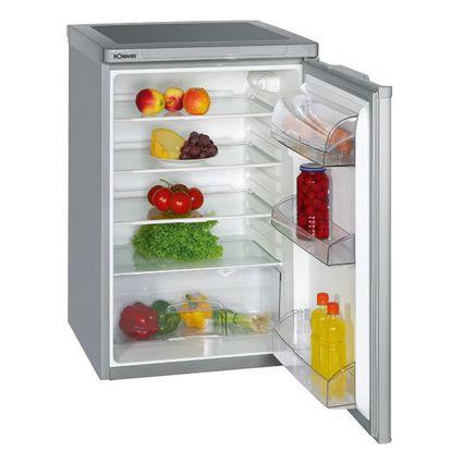 BOMANN Kühlschrank VS 198, silber