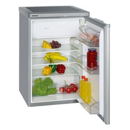 BOMANN Kühlschrank KS 197, mit Eisfach, silber