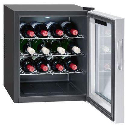 BOMANN Wein-Klimaschrank KSW 344, schwarz