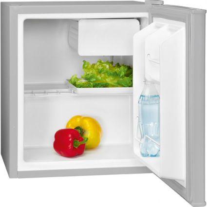 BOMANN Mini-Kühlschrank KB 389, mit Eisfach, silber