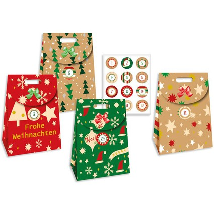 "ROTH Adventskalender ""24 Adventsshopper"""
