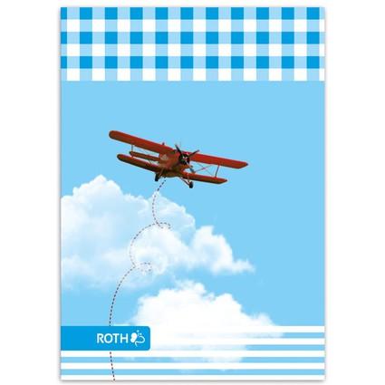 """ROTH Oktavheft """"Air Race"""", DIN A6, liniert"""