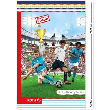 "ROTH Hausaufgabenheft Color ""Fußball"""