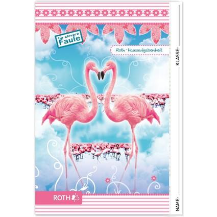 "ROTH Hausaufgabenheft Color ""Flamingo"""
