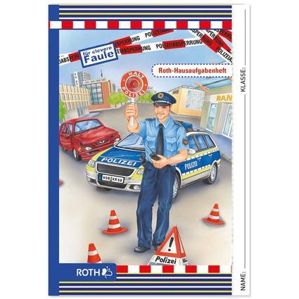 "ROTH Hausaufgabenheft Color ""Polizist"""