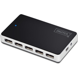 DIGITUS usb 2.0 Hub, 10-Port, schwarz