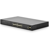 "DIGITUS 19"" layer 2 web Smart gigabit Ethernet Switch"