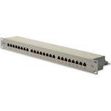 "DIGITUS 19"" patch Panel Kat.5e, klasse D, 24 x RJ45, 1 HE"