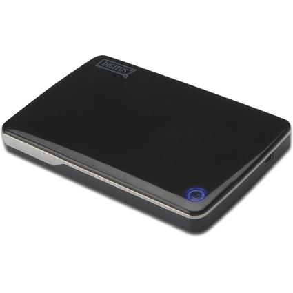 "DIGITUS 2,5"" SATA Festplatten-Gehäuse, USB 2.0, Kunststoff"