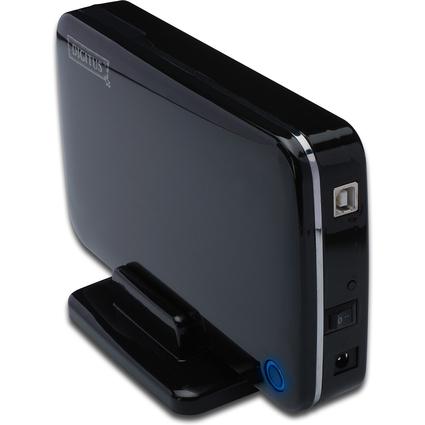 "DIGITUS 3,5"" SATA Festplatten-Gehäuse, USB 2.0, Kunststoff"