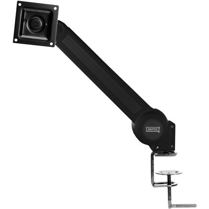 DIGITUS LCD-/LED-/TFT-Monitorarm, für Tischmontage, schwarz