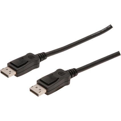 DIGITUS DisplayPort Anschlusskabel, Stecker - Stecker, 1,0 m