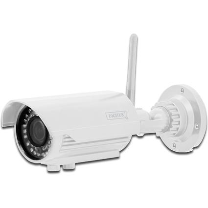 """DIGITUS Plug&View IP Netzwerk Kamera """"OptiVario"""" WLAN"""