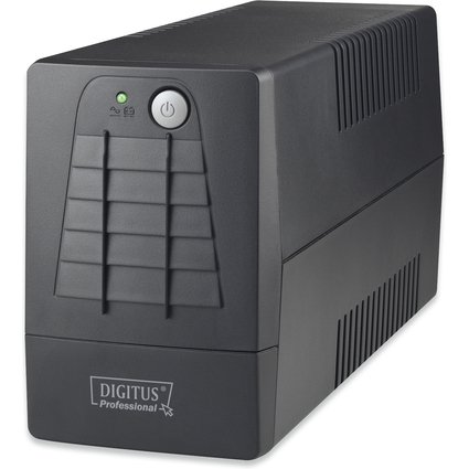 DIGITUS USV-Anlage Line Interactive, 600 VA, 360 Watt