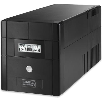 DIGITUS USV-Anlage Line Interactive, 1.000 VA, 600 Watt