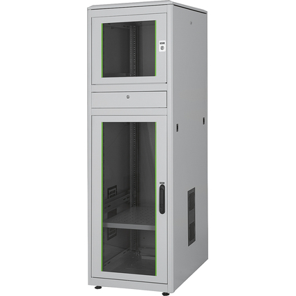 "DIGITUS 19"" Industrie-PC-Schrank, 36HE, IP 40, lichtgrau"