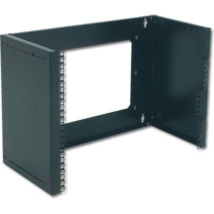 "DIGITUS 19"" Universal-Wandgestell, 8 HE, schwarz (RAL 9005)"