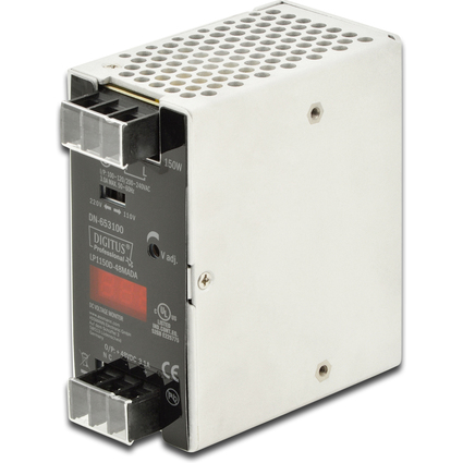 DIGITUS Industrial Netzteil, 48 Volt, 100 Watt