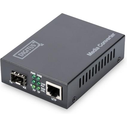 DIGITUS Fast Ethernet Medienkonverter, RJ45 / SFP