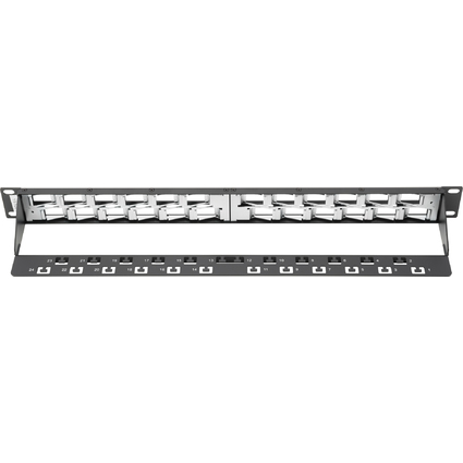 "DIGITUS 19"" Modular Patch Panel Leerpanel, 24 Port"