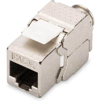 DIGITUS Keystone Modul Kat.5e, 1 x RJ45, geschirmt