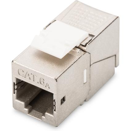 DIGITUS Keystone Modul Kat.6A(tief) geschirmt, grau