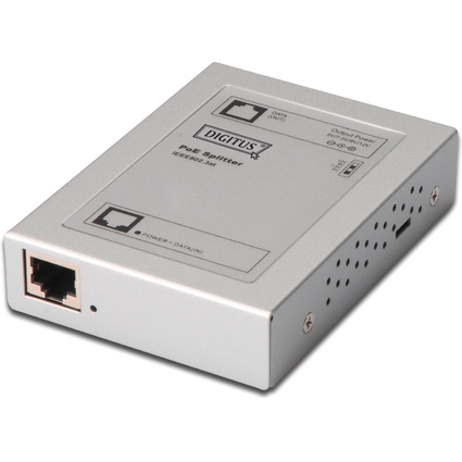 DIGITUS PoE Splitter, entspricht IEEE 802.3at Standard