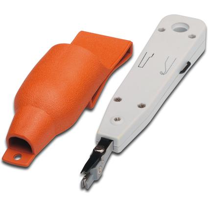 DIGITUS Anlegewerkzeug mit Schneidvorrichtung