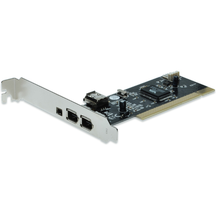 DIGITUS FireWire 1394a PCI Add-On Karte, 4 Port