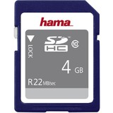 hama speicherkarte SecureDigital high Capacity Gold, 4 GB